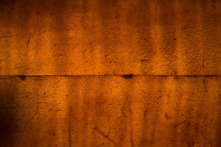 middle joint: A bordo di acero laccato con una colla comune in esecuzione in mezzo. Archivio Fotografico