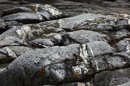 eiszeit: Stone Formationen von der Eiszeit geformt.