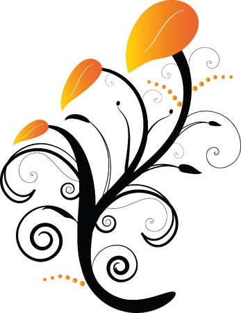 A floral background Stock Vector - 2754191