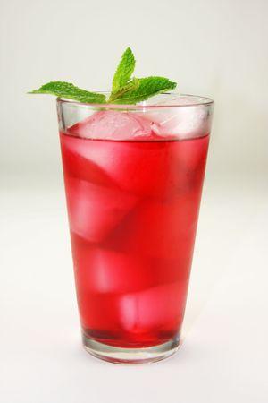 Cool Red Cocktail Beverage Stok Fotoğraf