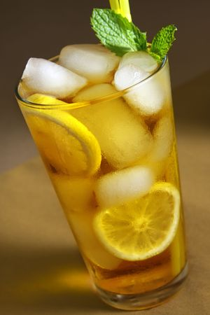 Ice Tea Beverage Stock Photo