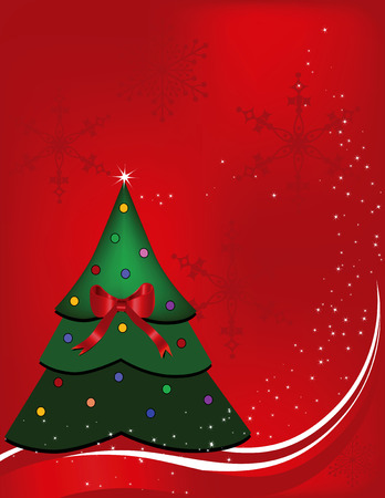 be lost: Christmas background designed in Illustrator vector format.  Can be scaled to any sized without lost of quality.  Illustration