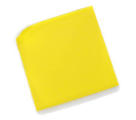 Blank yellow Post-it Note Banco de Imagens