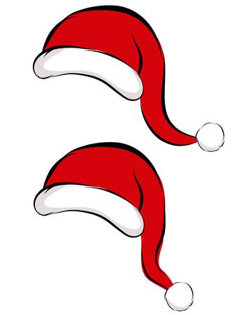 Santa Cap Illustration