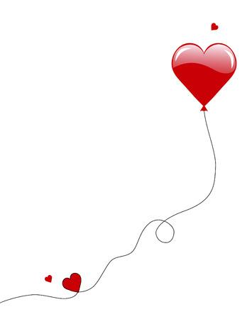palloncino cuore: Valentino Cuore Balloon
