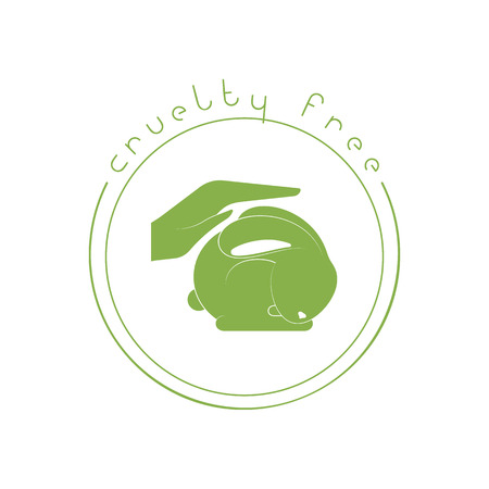 Animal Cruelty Free Logo Not Tested On Animals Symbol Royalty Free