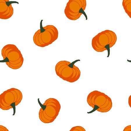 Pumpkin - Halloween seamless pattern Иллюстрация