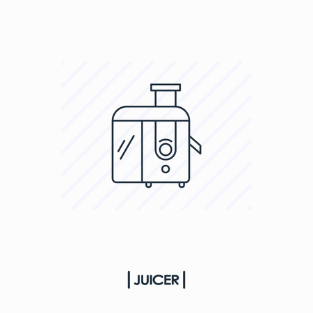 Juicer outline icon isolated