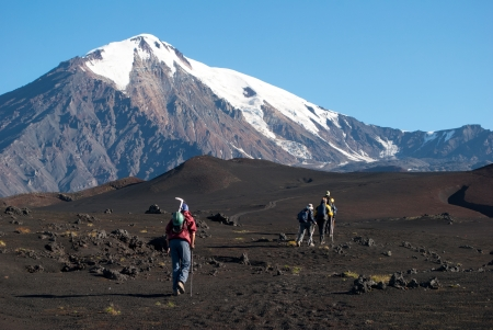 trekking on Kamchatka photo