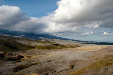 kamchatka: paesaggio selvaggio in Kamchatka Archivio Fotografico