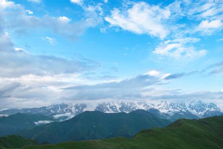 mountain landscape, Georgia Banque d'images