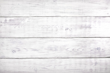 rustic food: Old white rustic wood background, wooden surface with copy space