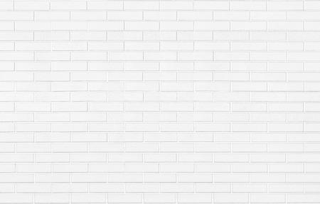 Piedra de ladrillo blanco textura de fondo de pared horizontal Foto de archivo - 43647502