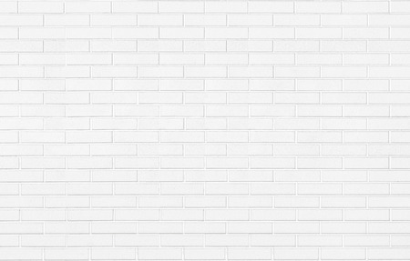 White brick stone wall background texture horizontal