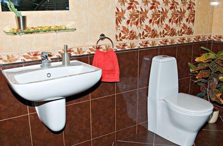 bathroom facilities interior