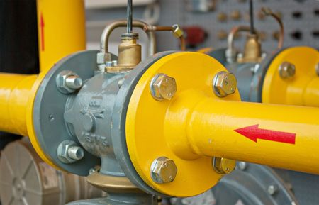 gas supply: transfer oil and gas to main pipe line