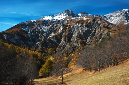bardonecchia: HDR alpine landscape of Italy north west alps