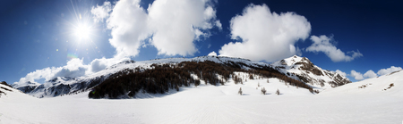 bardonecchia: Panoramic view of Italian Alps
