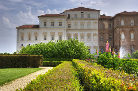 royals: Royal palace of venaria reale seen from it garden