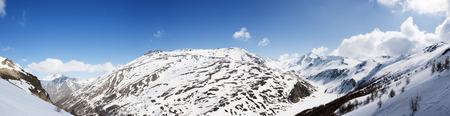 bardonecchia: Panoramic view of Italian Alps