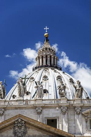 pietro: Basilica of San Pietro - Rome Stock Photo