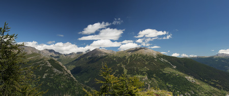 bardonecchia: Panoramic view of Italian Alps - Brdonecchia - Piedmont