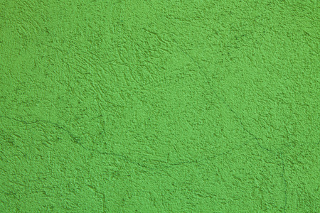 Wall background, green colored texture
