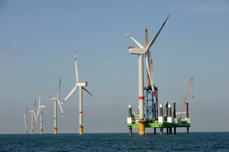 power in nature turbine: Offshore Wind Farm Energy