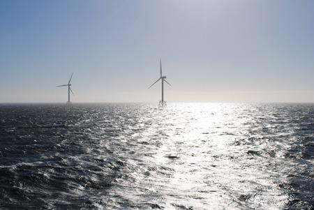 Offshore Wind Park  Standard-Bild