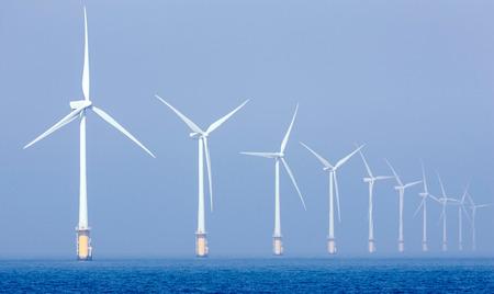 オフショアの風公園 写真素材