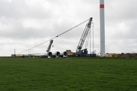 kw: Wind turbine construction onshore