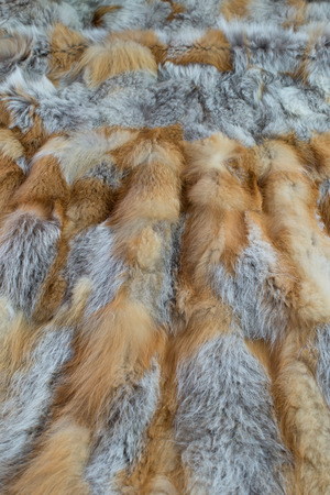 fox fur: red fox fur