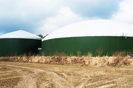 Biogasanlage Фото со стока