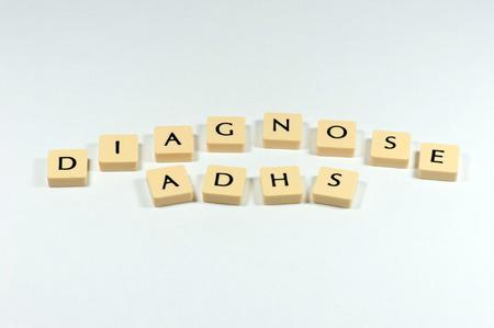 ADHD 症の診断 写真素材