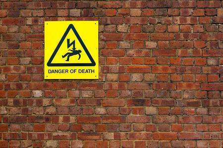Danger of death photo