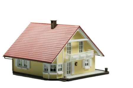 modelwoning Nieuwe bouw van een huis