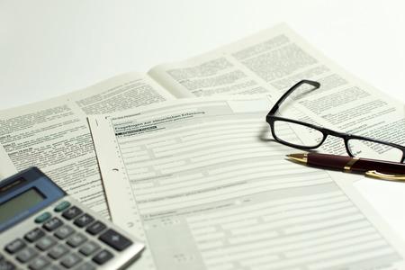 Business registration Standard-Bild