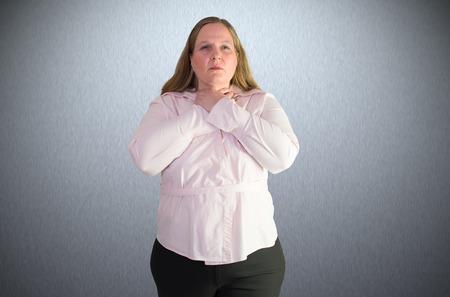 harass: A woman feels like a stranglehold