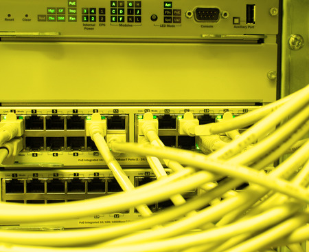 patch panel: Network LAN patch panel
