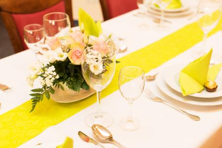dekoracja: Table Decoration Zdjęcie Seryjne