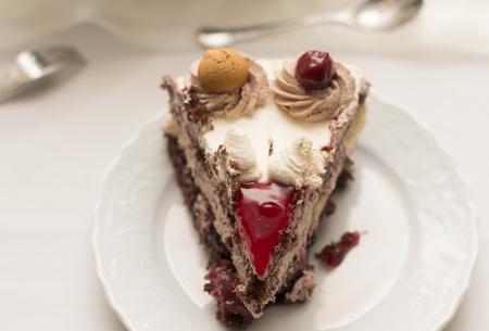 cherry pie: Cherry pie Stock Photo