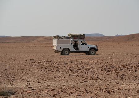 namibia: Stone Desert in Namibia Africa