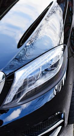 headlight: car details headlight