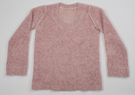 velcro: mohair sweater