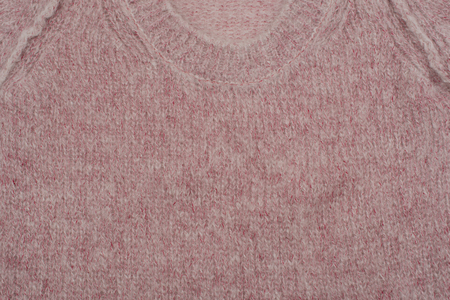 velcro: Mohair sweater on white background