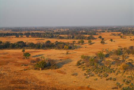 Desert landscape in Africa