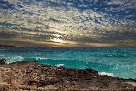 Mallorca coast landscape