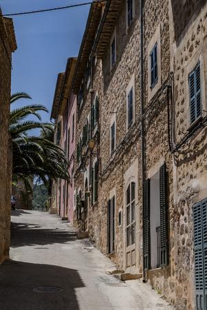 mallorca: Alley in Mallorca Stock Photo