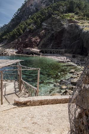 Bay in Mallorca