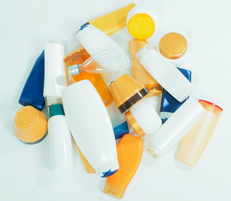 plastic waste: Plastic waste Stock Photo